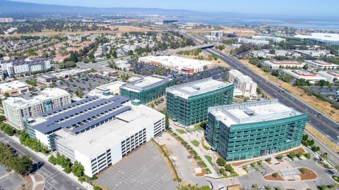Exterior view from above (Photo: Business Wire)