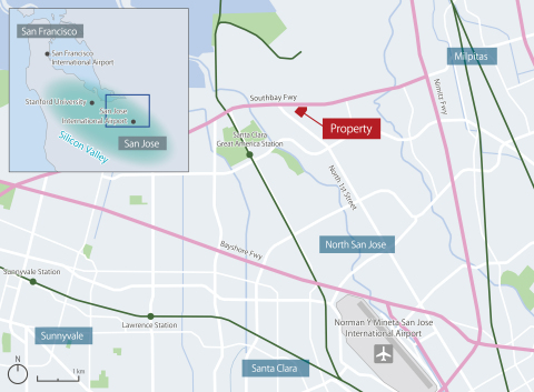 Vicinity map (Graphic: Business Wire)