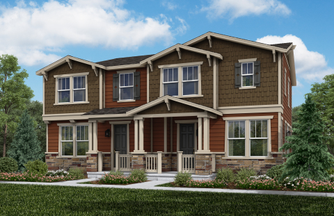 New KB homes now available in the Metro Denver-area. (Photo: Business Wire)