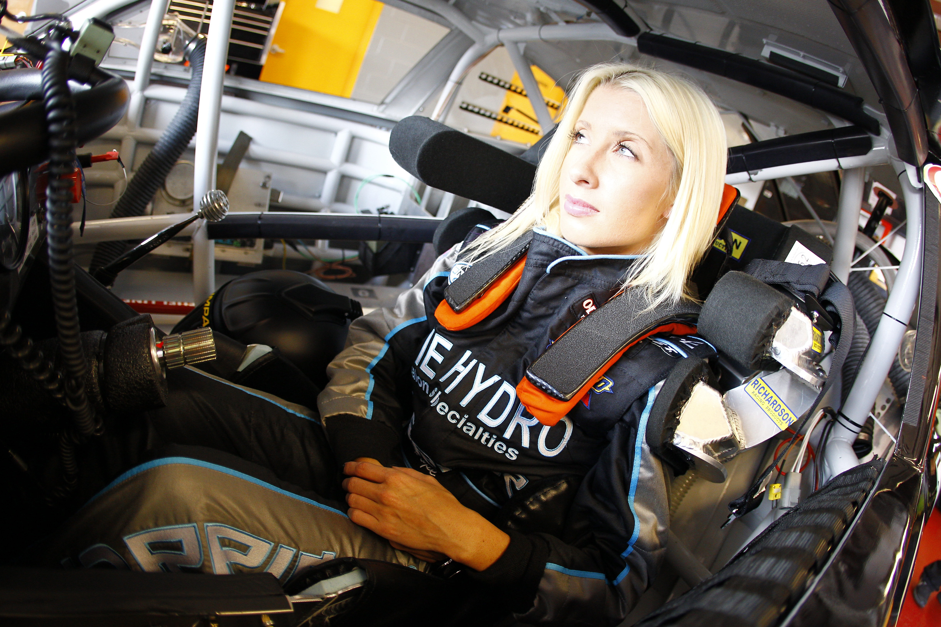 NASCAR's Angela Ruch Signs with Niece Motorsports | Business
