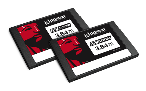 Kingston is now shipping both its DC500R and DC500M Enterprise SSD's. (Photo: Business Wire)
