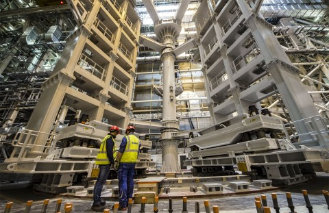 SSAT on-site assembly (c) ITER Org