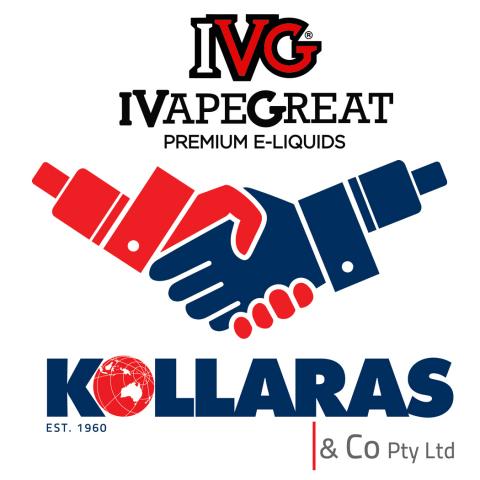 IVG Premium E-Liquids Announces Strategic Partnership with Kollaras & Co (Photo: Business Wire)