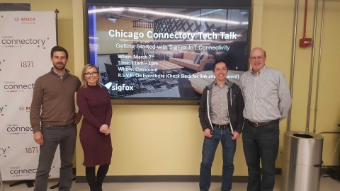 Sigfox Tech Talk at Chicago Connectory (Photo: Business Wire)