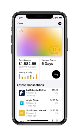 Created by Apple and designed for iPhone, Apple Card brings together Apple's hardware, software and services to transform the entire credit card experience. (Graphic: Business Wire)