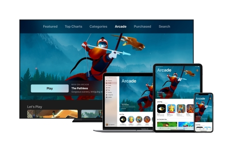 Apple Arcade will launch in fall 2019 on the App Store across iOS, macOS and tvOS (Graphic: Business Wire)