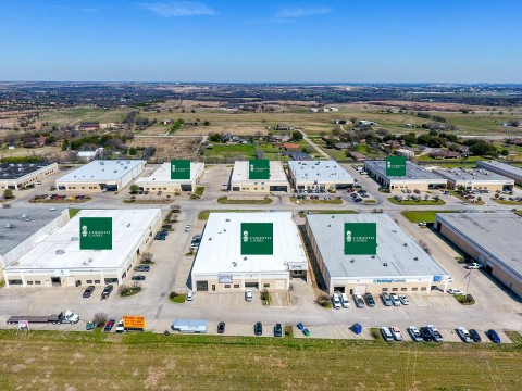 Marking their second acquisition of buildings in the IH-20 West Business Park, Corinth Land and PCI now own six of the 30 Business Park's buildings. (Photo: Epic Foto Group)