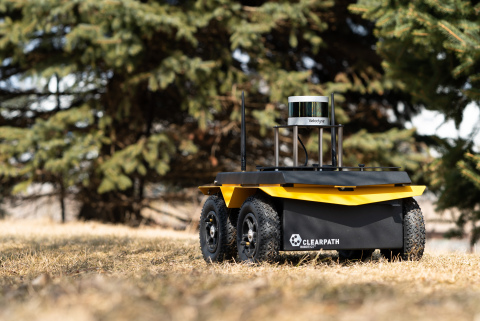 Clearpath's robotic solutions utilize Velodyne's state-of-the-art lidar technology, which boasts industry-leading resolution, range, and field of view. (Photo: Business Wire)