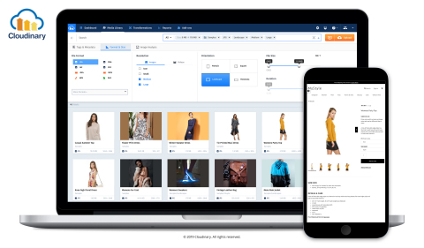 Cloudinary for e-Commerce (Photo: Business Wire)