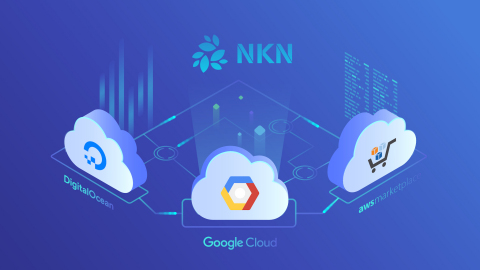 NKN partners with 3 leading cloud platforms (Graphic: Business Wire)