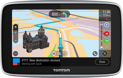 TomTom Launches State-of-the-Art Satnav (Graphic: Business Wire)