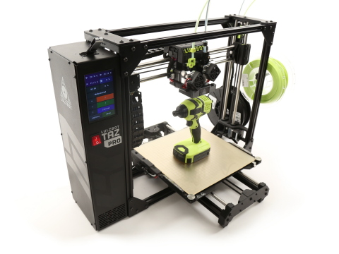 The new LulzBot TAZ Pro provides large, multi-material printing with easy, professional results. (Ph ...