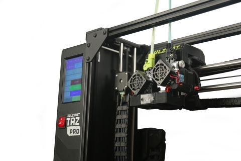 The new LulzBot TAZ Pro provides large, multi-material printing with award-winning reliability. (Photo: Business Wire)