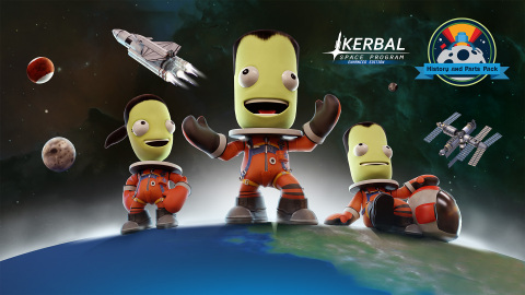 Private Division, Squad, and BlitWorks today announced that Kerbal Space Program: History and Parts Pack is now available for PlayStation®4 computer entertainment system and across the Xbox One family of devices, including Xbox One X.