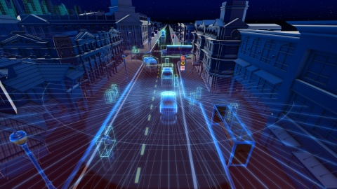 Velodyne lidar can simultaneously locate the position of people and objects around a vehicle and assess the speed and route at which they are moving. (Photo: Business Wire)