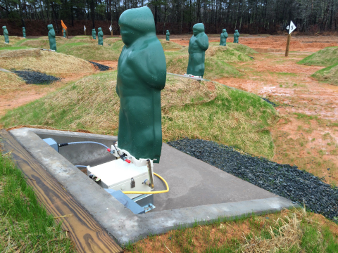 Meggitt's Installed Stationary Infantry Target (SIT) (Photo: Business Wire)