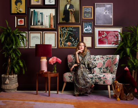 Drew Barrymore and Walmart Launch Exclusive Online Collection, 'Drew Barrymore Flower Home'