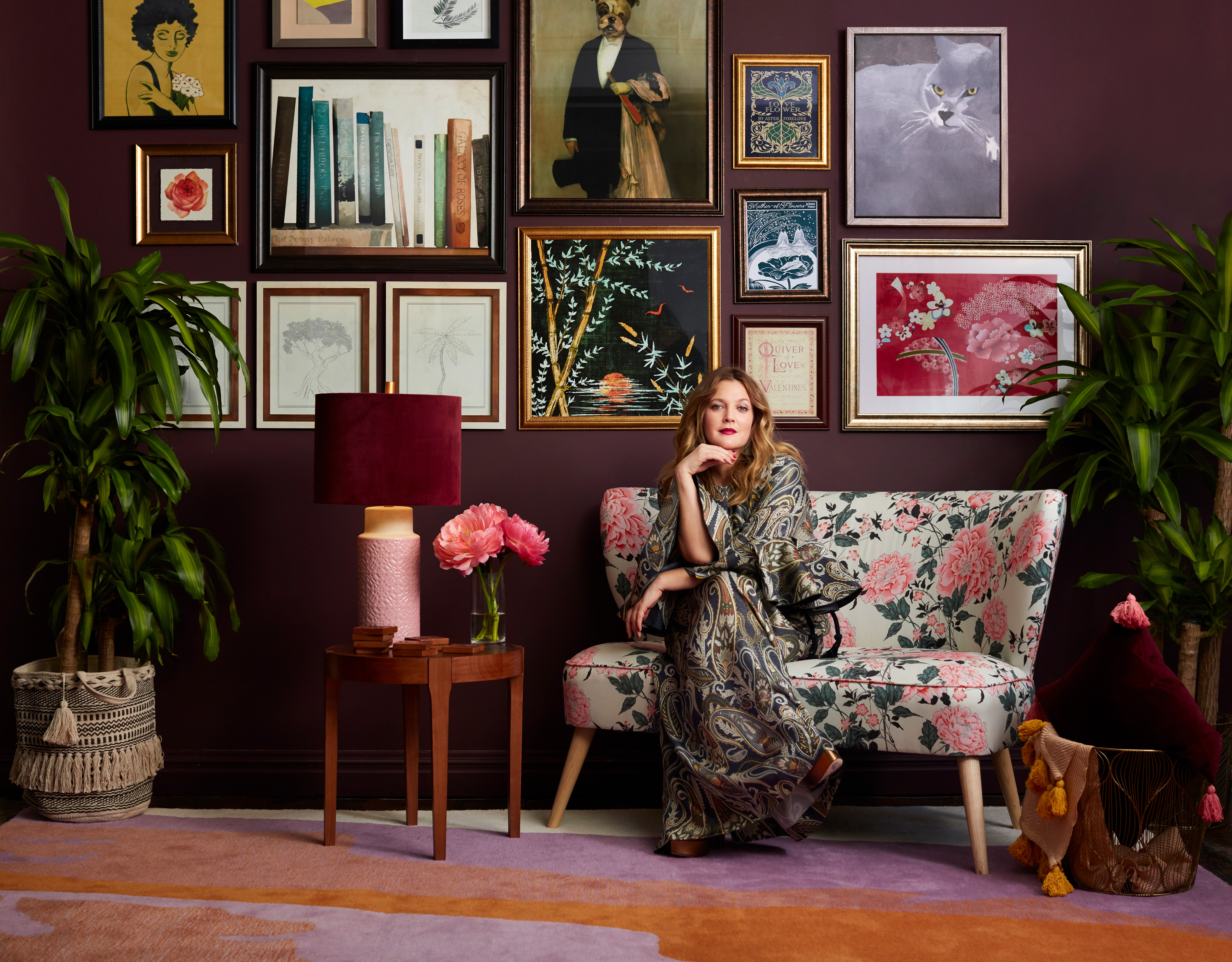 c37731bc0b433 A Home in Bloom  Drew Barrymore and Walmart Launch Exclusive Online  Collection