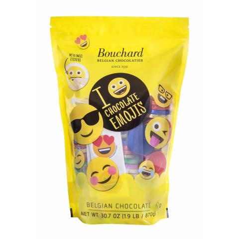 Bouchard Belgian Milk Chocolate Emoji Coins (Photo: Business Wire)