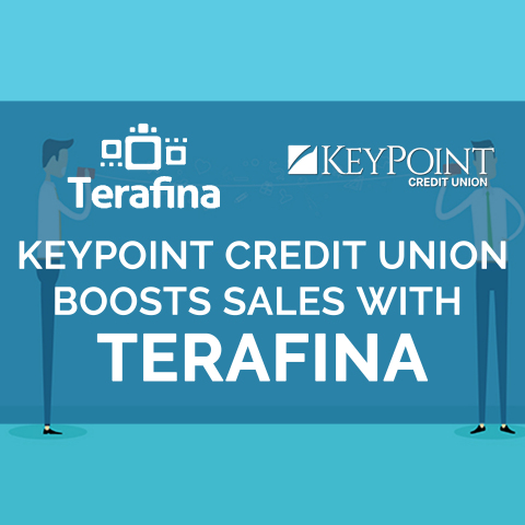 KeyPoint Credit Union sees boost in sales with adoption of Terafina solution (Graphic: Business Wire)