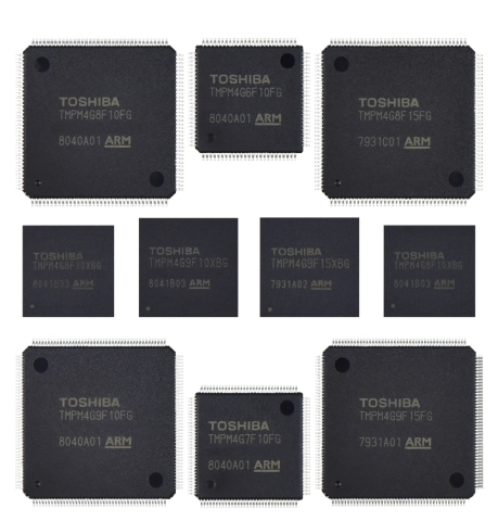Toshiba: The M4G Group (1) microcontrollers based on the Arm(R) Cortex(R)-M4 core with FPU (Photo: Business Wire)