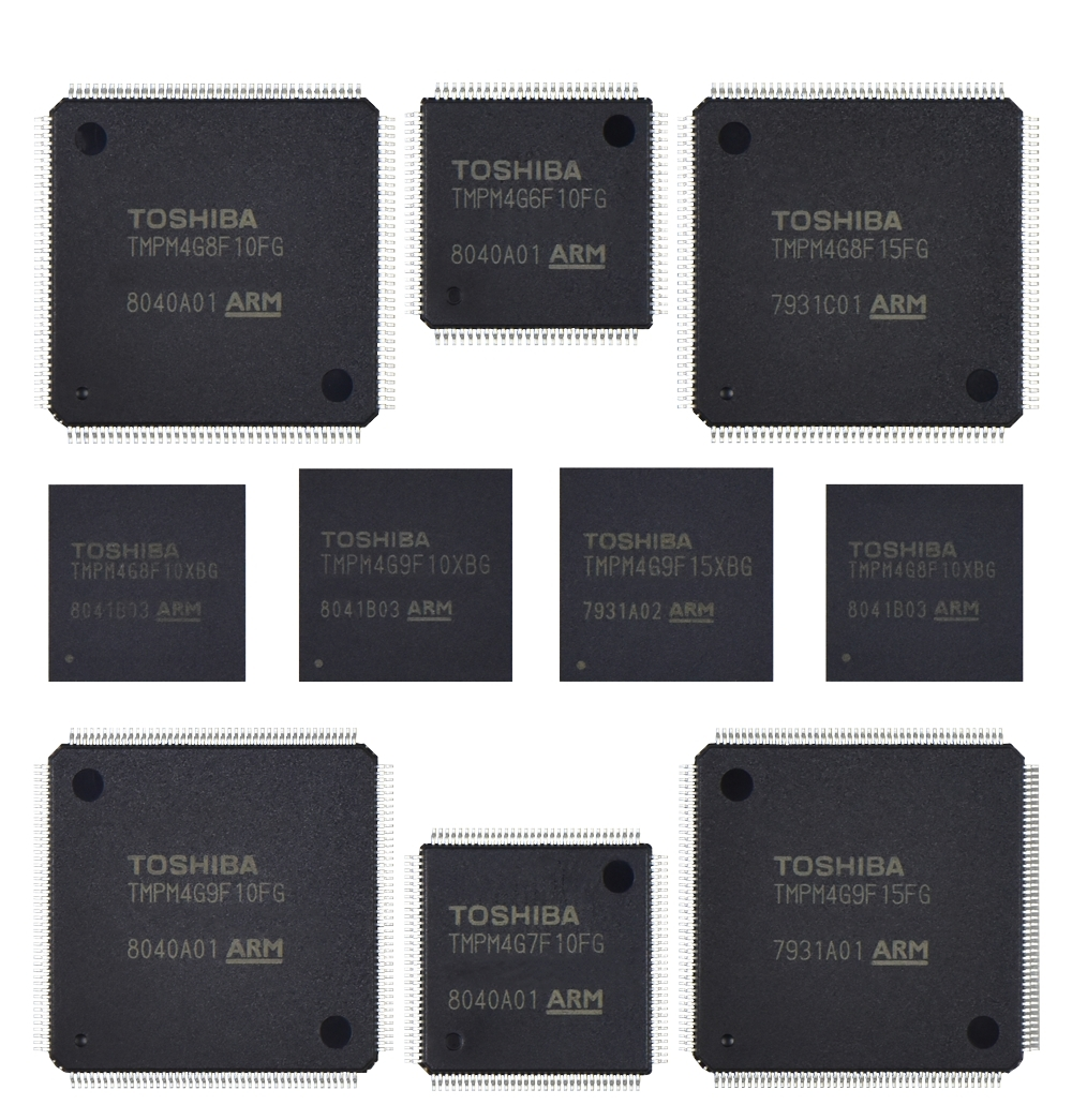Toshiba's Arm® Cortex®-M4-based Microcontrollers with Built-in