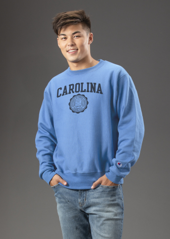 The University of North Carolina at Chapel Hill has selected Hanesbrands Inc, -- a University licensee under its Champion label since 1988 -- as the school's primary partner for apparel products. The new agreement, which was executed in collaboration with its exclusive trademark licensing agent, IMG College Licensing, covers UNC-branded men's, women's, youth, and infant/toddler apparel across all retail channels for the next 10 years. (Photo: Business Wire)