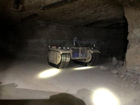 The Estonian energy company Enefit utilized Milrem Robotics' commercial line unmanned ground vehicle ...