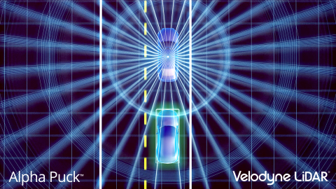 Velodyne Alpha Puck™ is a lidar sensor specifically made for autonomous driving and advanced vehicle ...