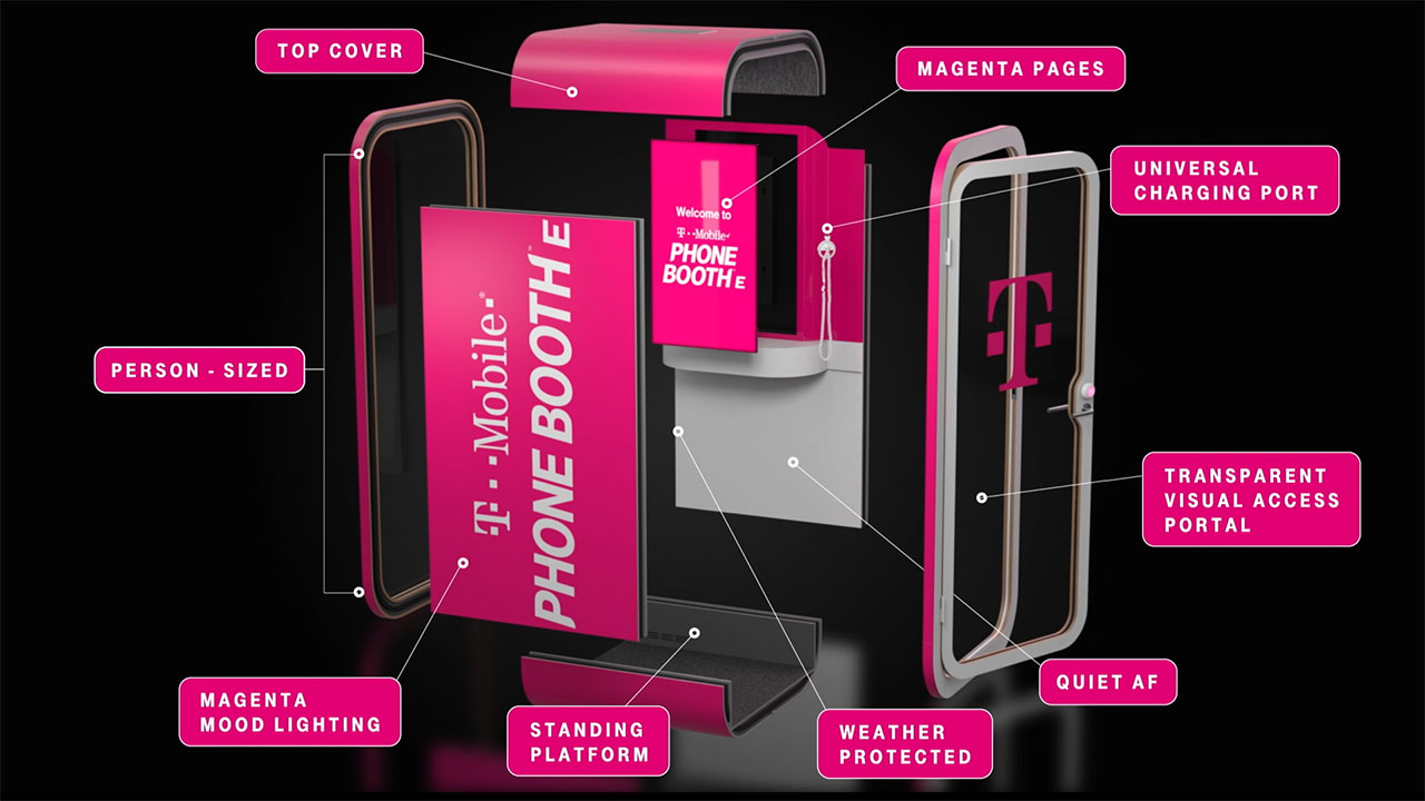 T-Mobile Revolutionizes Wireless AGAIN. Introducing T-Mobile Phone BoothE