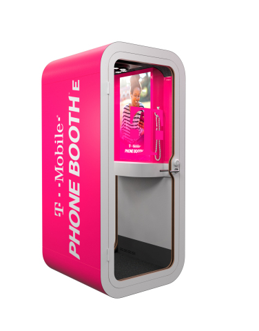 T-Mobile Revolutionizes Wireless AGAIN. Introducing T-Mobile Phone BoothE (Graphic: Business Wire)