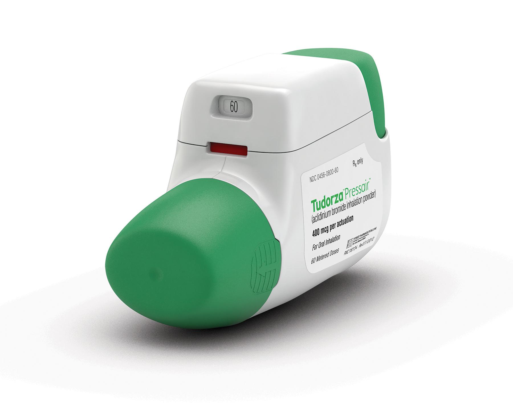 FDA Approves TUDORZA® PRESSAIR® (aclidinium bromide