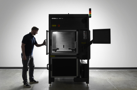 The Stratasys V650™ Flex combines the power of a large-scale system with a configurable environment for fine-tuning across a broad range of resins (Photo: Business Wire)