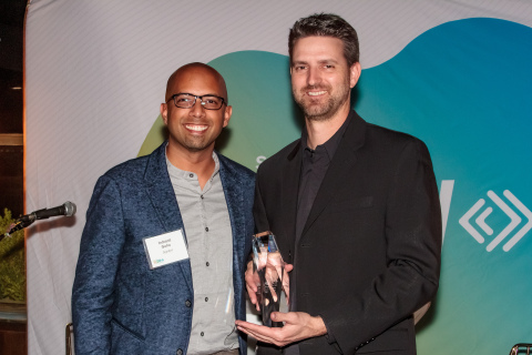 Indy Guha, Signifyd's VP of Growth Marketing and Paul Zaengle, Stance's Executive Vice President of Direct to Consumer (Photo: Business Wire)