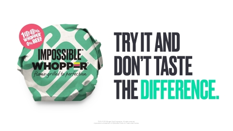 BURGER KING® Restaurants Test the Impossible™ WHOPPER® (Photo: Business Wire)