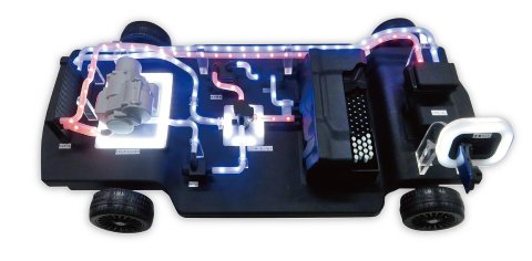 Cooling system mock-up (concept model) (Graphic: Business Wire)