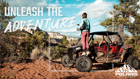 Polaris Adventures launches national marketing campaign to inspire people to embark on bucket list ride and drive experiences nationwide like Zion East Adventures in Mt. Carmel, Utah pictured. (Photo: Polaris Industries Inc.)