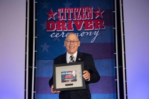 Steen Gronlund, TravelCenters of America 2019 Citizen Driver honoree. (Photo: Business Wire)