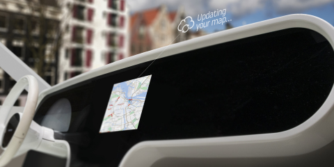 TomTom IQ Maps combines the reliability of in-car navigation with the freshness of navigation apps b ...