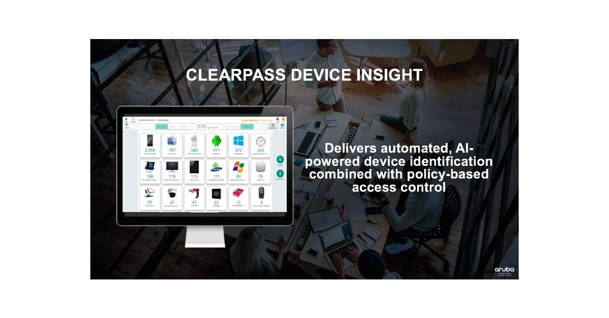 Aruba Simplifies Enterprise IoT Adoption with New Automated