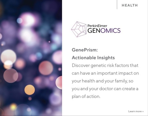 GenePrism: Actionable Insights includes 59 genes identified as highly penetrant and medically actionable by the American College of Medical Genetics, the premier medical genetics professional organization in the U.S. (Graphic: Business Wire)