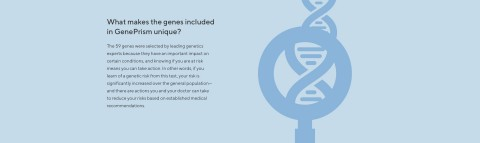GenePrism provides full gene sequencing for the 59 genes included in the test, to identify all possible disease-causing variants. (Graphic: Business Wire)