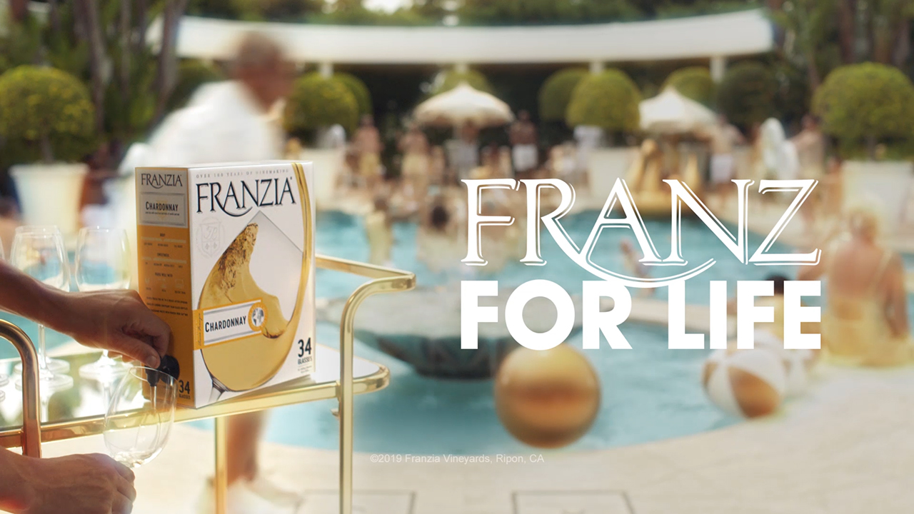 """Thank you for being a Franz,"" Franzia celebrates the lifelong friendships made around a box of Franzia."