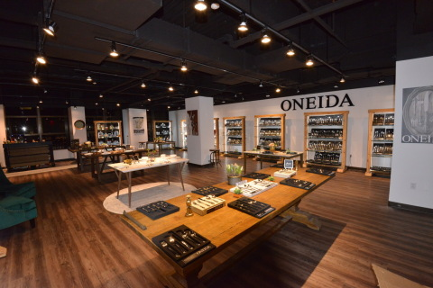The Oneida Group Opens New Retail Showroom at FortyOne Madison (Photo: Business Wire)