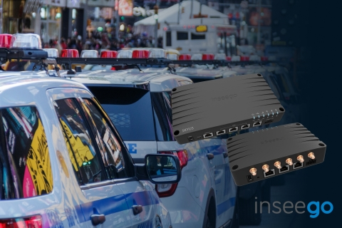 Inseego Skyus 300 and Skyus 500 Gigabit Edge Routers for Public Safety (Graphic: Business Wire)