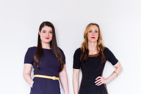 Kerin Law, PhD, and Eleanor Kuntz, PhD, founders of LeafWorks (Photo: Business Wire)