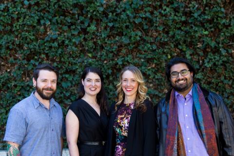 Nick Batora, PhD, Kerin Law, PhD, Eleanor Kuntz, PhD, and Rishi Masalia, PhD - LeafWorks (Photo: Business Wire)