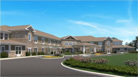 Proposed exterior concept of BrightStar Senior Living, Mason, OH (Photo: Business Wire)
