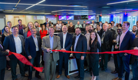 ECS held a ribbon cutting earlier this week to celebrate the grand opening of its Cybersecurity Inno ...
