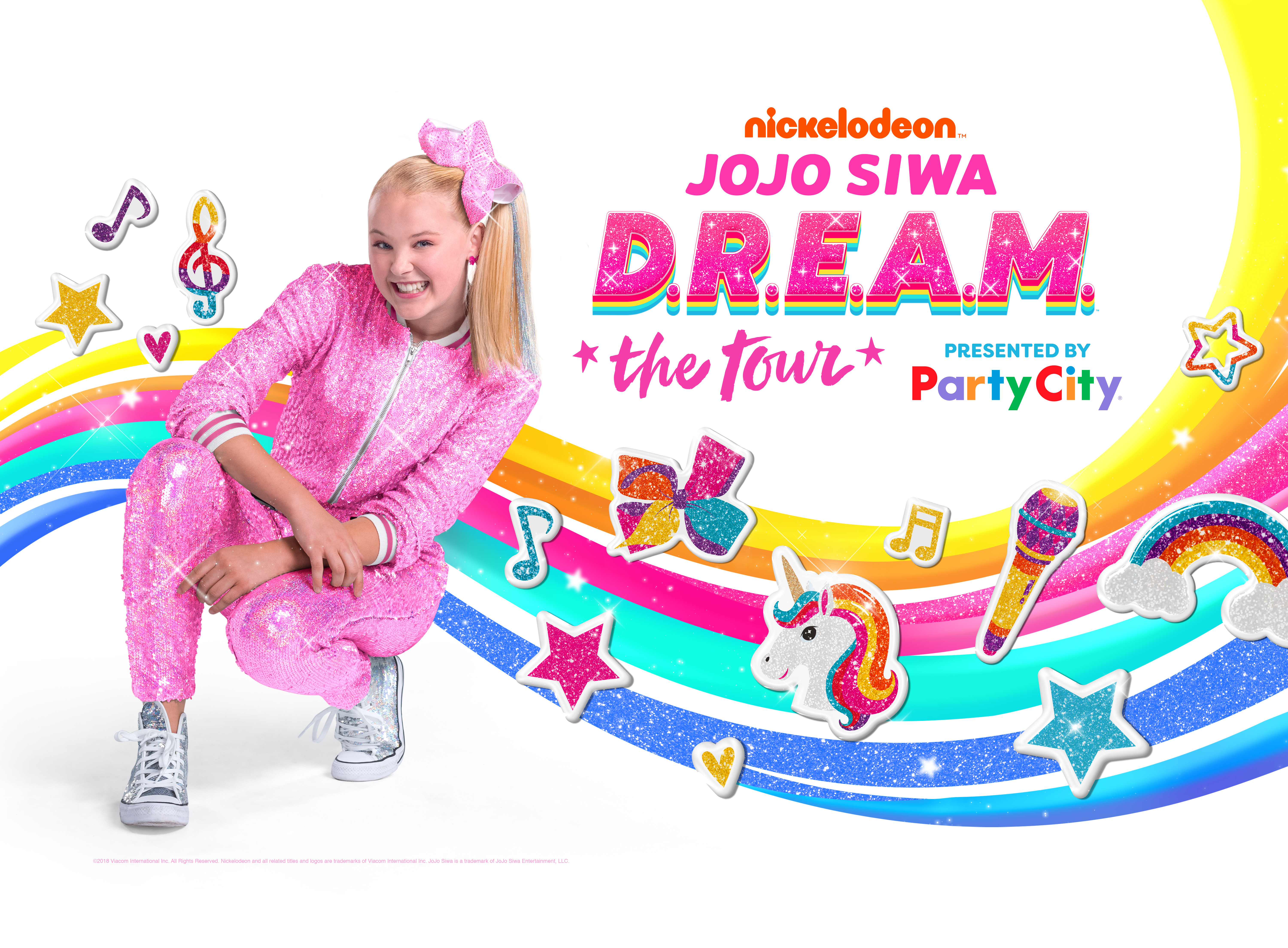 Nickelodeon S Jojo Siwa D R E A M The Tour Adds 17 New Dates Bringing Live Show To 70 Cities Business Wire